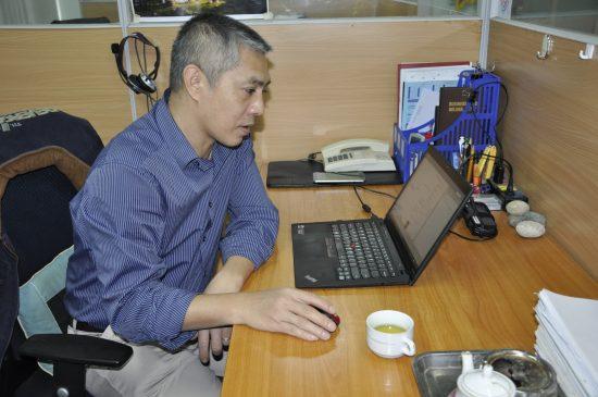 Anh Đinh Việt Dũng - Giám đốc Trung tâm Kỹ thuật HiPT